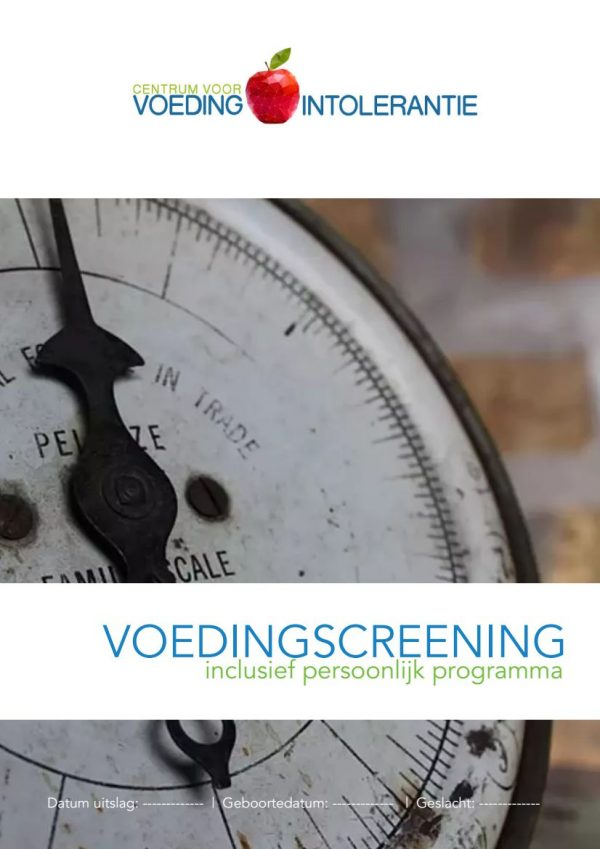 Voedingscreening